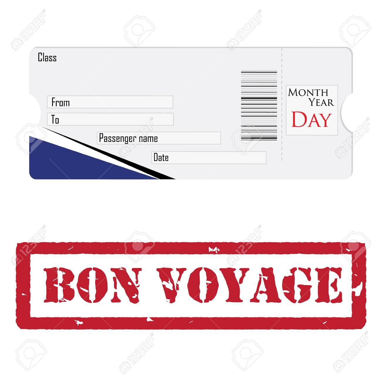 Erfreut Leere Flugzeug Ticketvorlage Fotos - Entry Level Resume ...