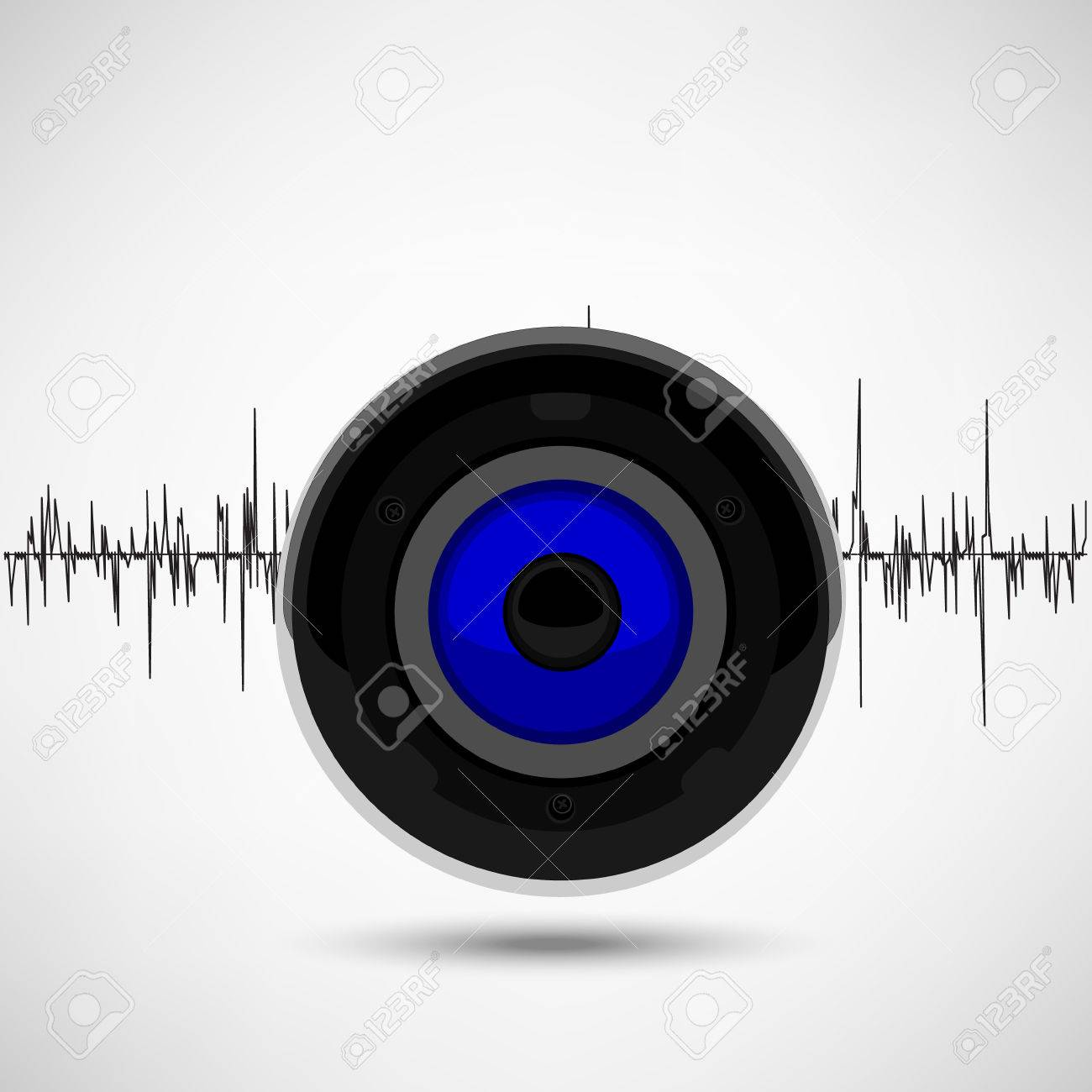 Top Wallpaper Music Soundwave - 77535754-raster-illustration-music-wallpaper-background-poster-with-sound-wave-and-speaker-for-radio-club-or-  You Should Have_151356.jpg