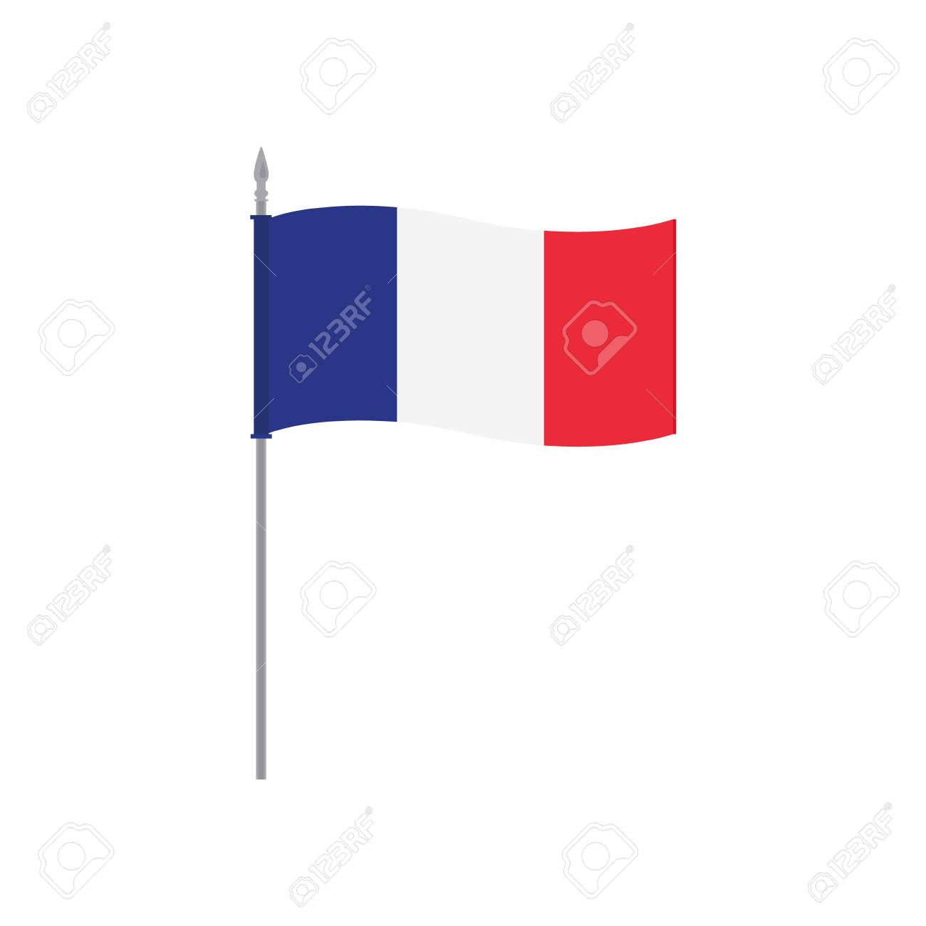 French Flag To Colour Template metal background with french flag ...