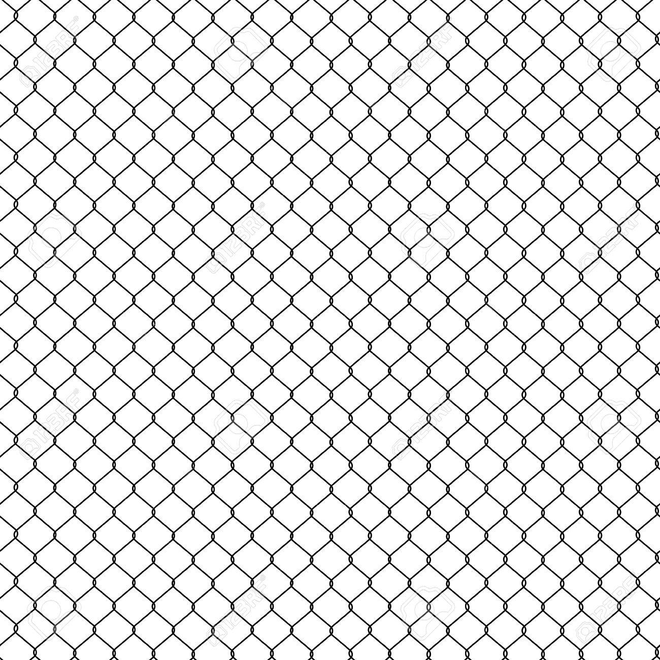 Raster Illustration Seamless Pattern, Background Steel Wire Mesh ...