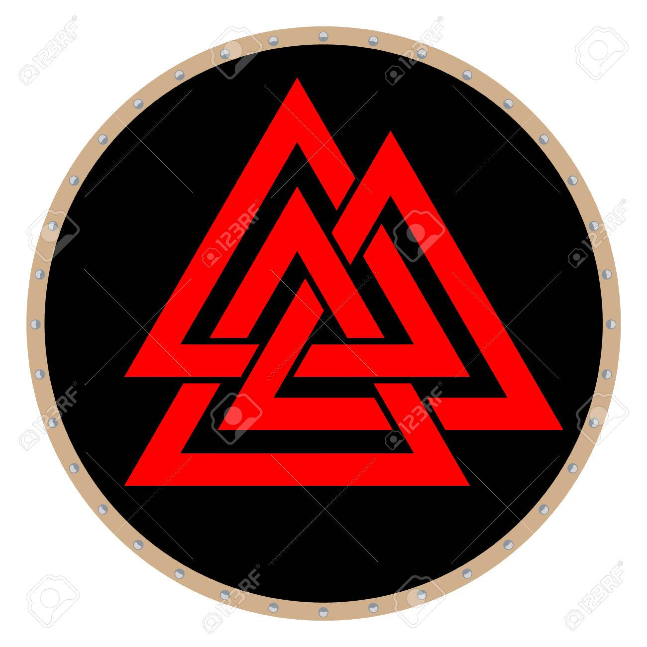 Valknut symbol of the world end of the tree yggdrasil sign of valknut symbol of the world end of the tree yggdrasil sign of the god odin buycottarizona