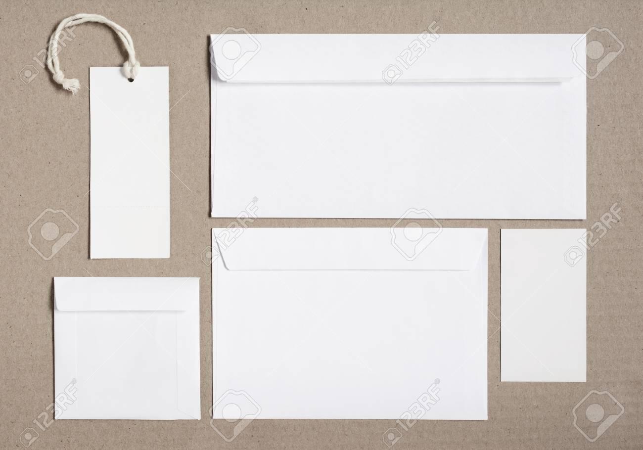 Maqueta De Marca De Papelería Para Diseños De Identidad. Conjunto De ...