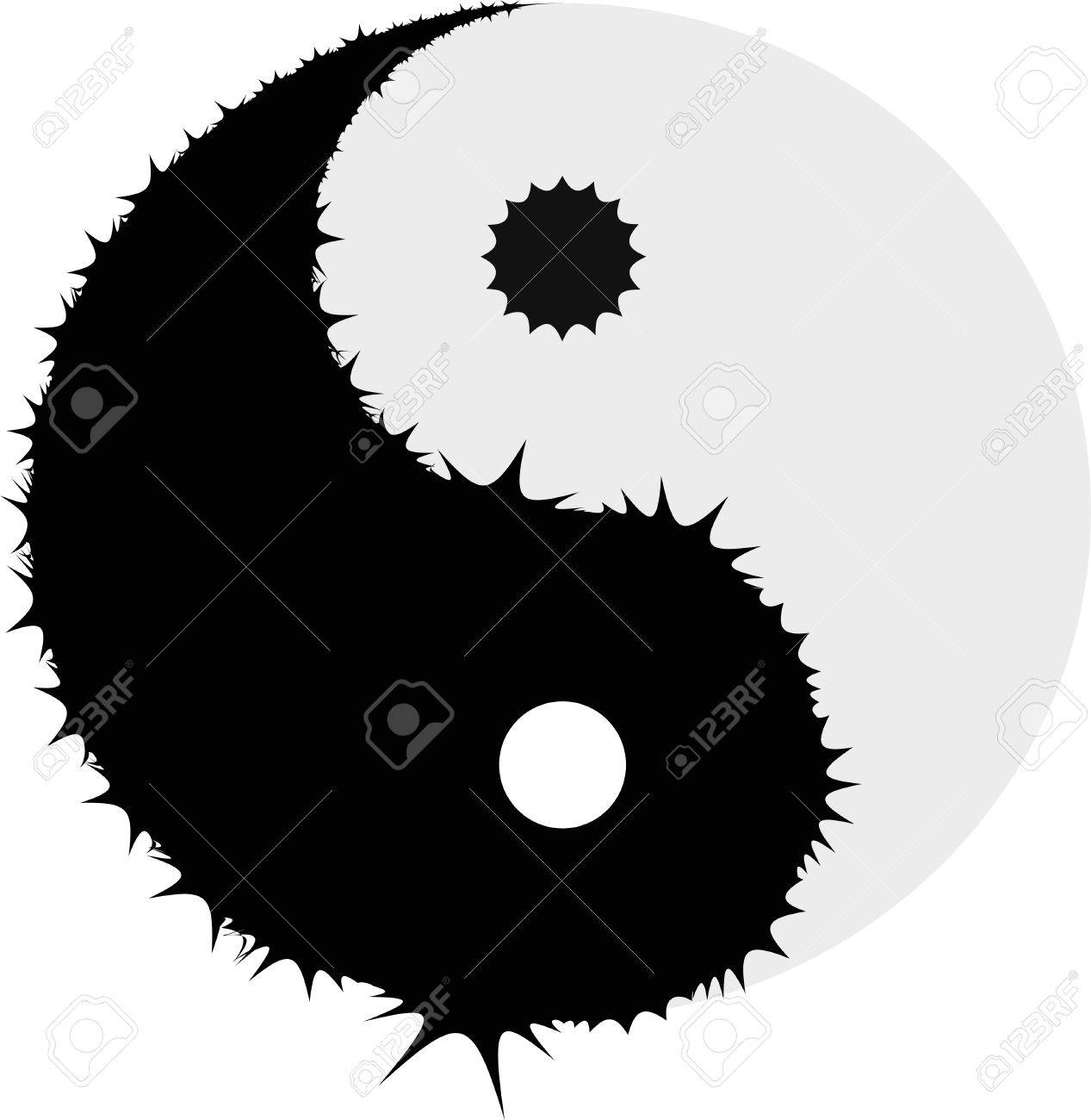 yin and yang Stock Vector - 6533620