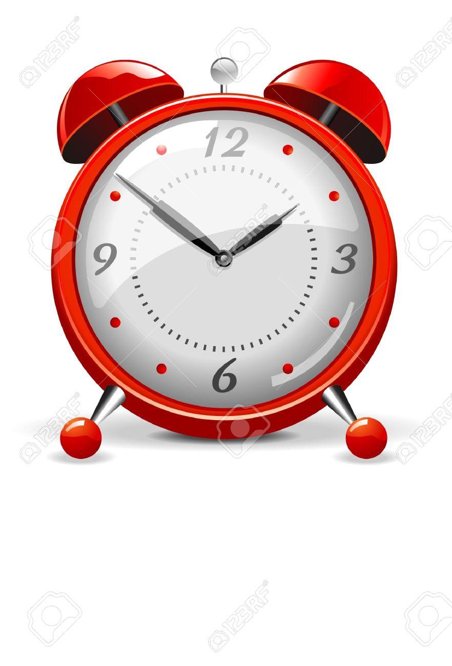 Red alarm clock - 4802330