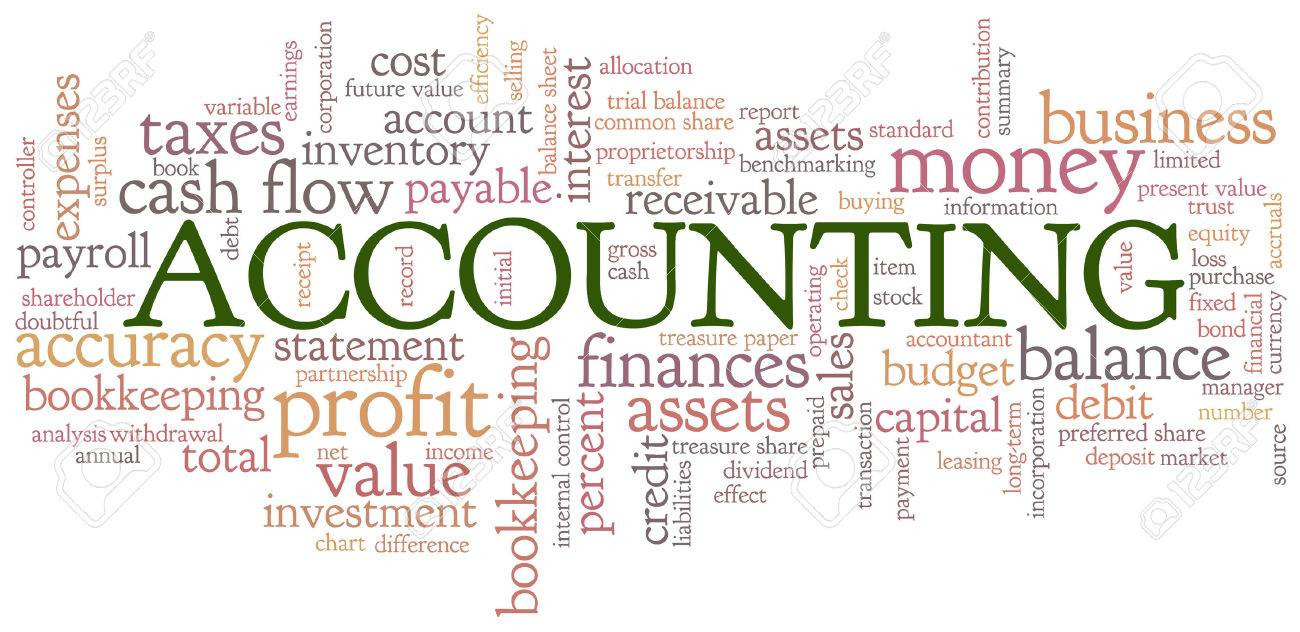 Accounting Word Cloud Word Bubble Tags Vector Royalty Free ...