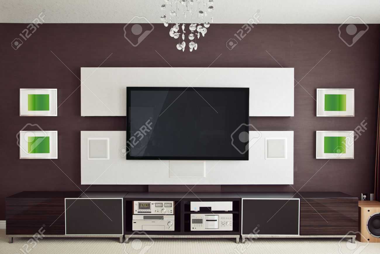 home theatre furniture stock photos & pictures. royalty free home