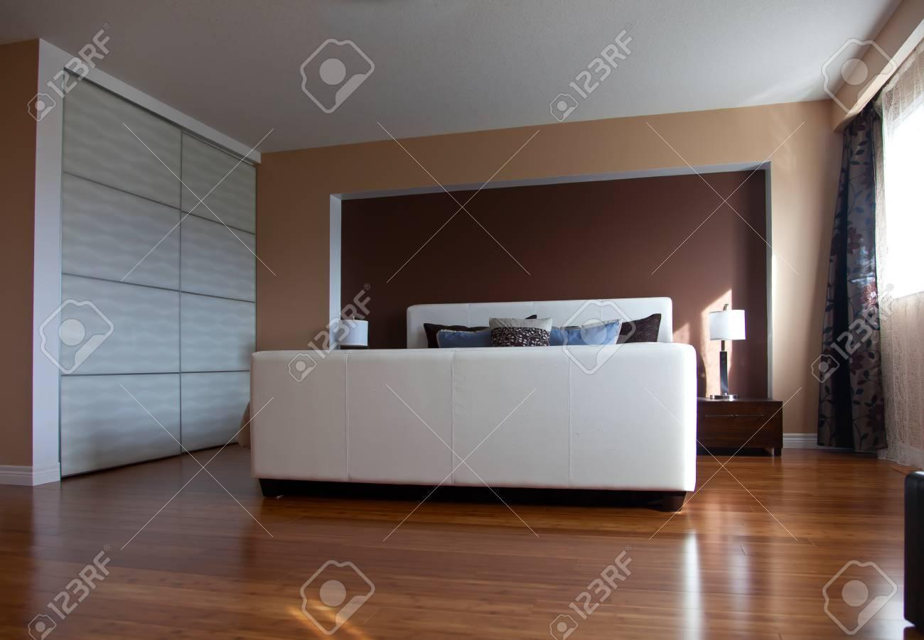modernes appartement interieur, design d'intérieur chambre à coucher moderne appartement, Design ideen