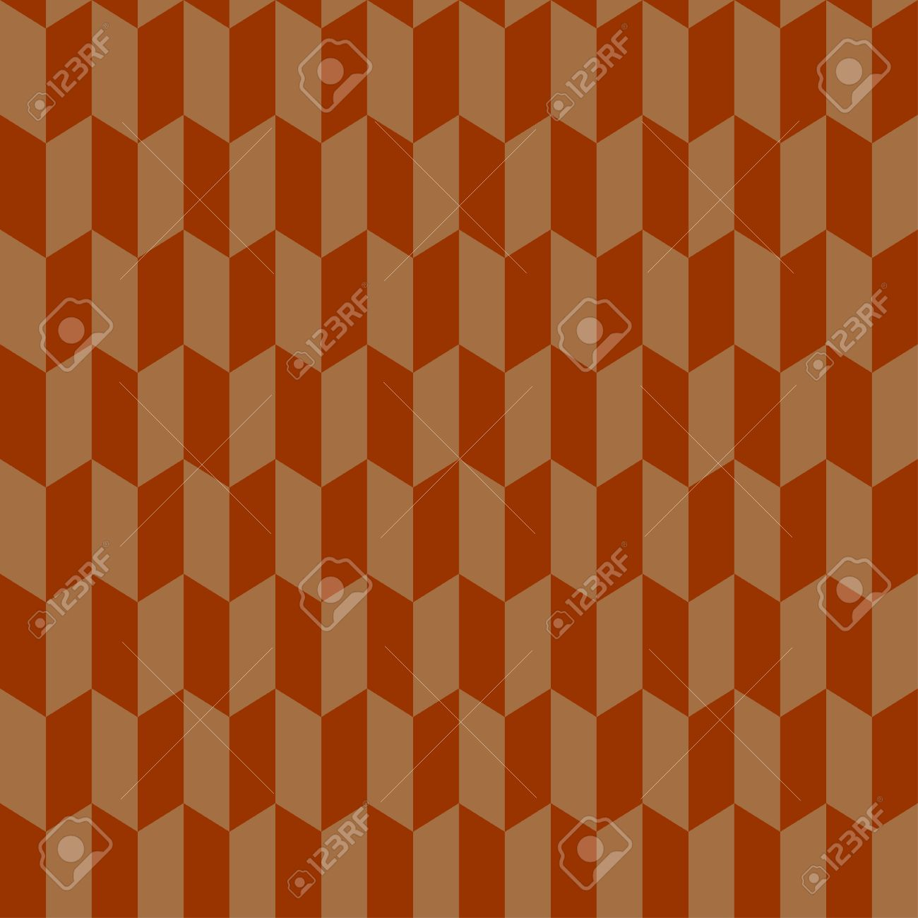 Seamless chevron pattern in retro style  Geometric background  Can be used to fabric design, wallpaper, decorative paper, scrapbook albums, web design, etc  Swatches of seamless pattern included in the file Stock Vector - 20025316