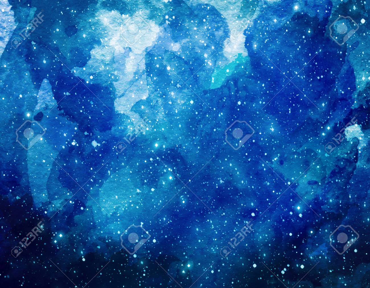space watercolor background abstract galaxy painting watercolor
