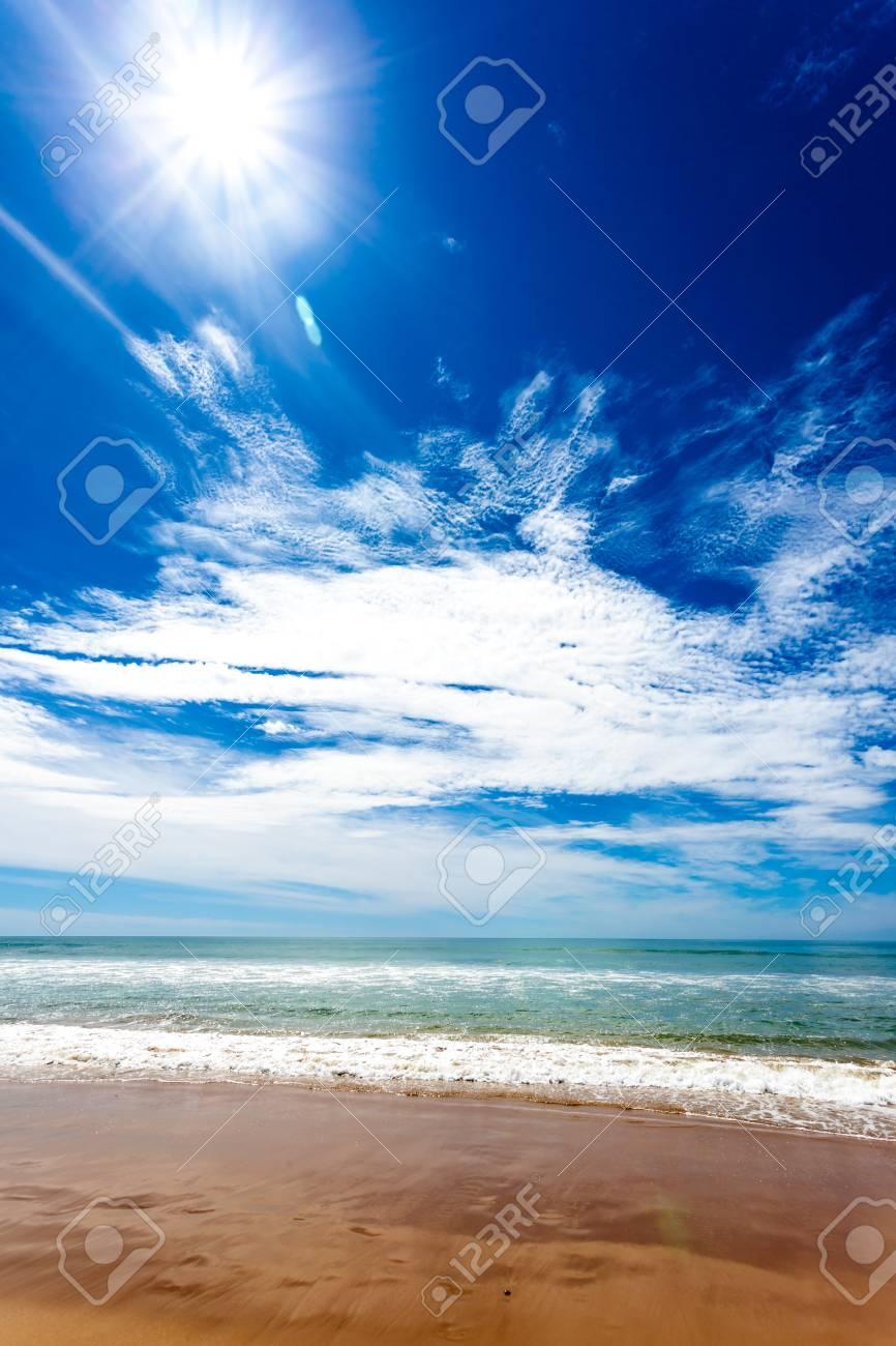 A fantastic beach called beach of Torregorda, Cadiz, Spain Stock Photo - 14192278