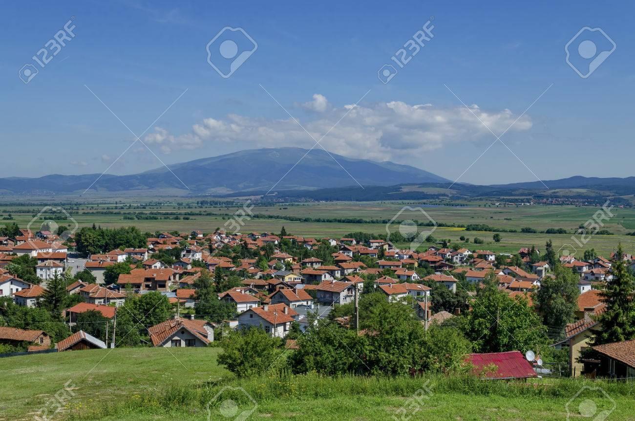 Panoramic View Of Village Belchin Samokov Municipality Sofia