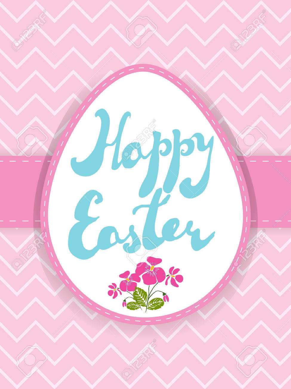 graphic about Printable Easter Card identify Printable Easter greeting card. Handwritten terms