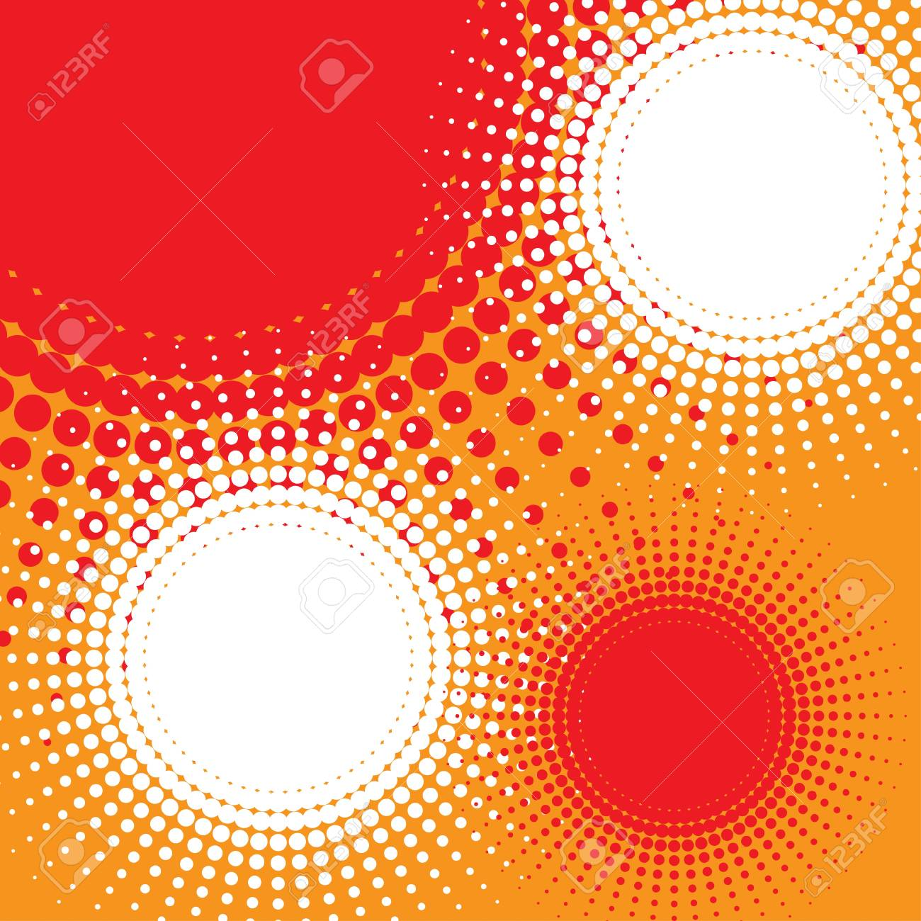 abstract background  halftone Stock Photo - 17098619