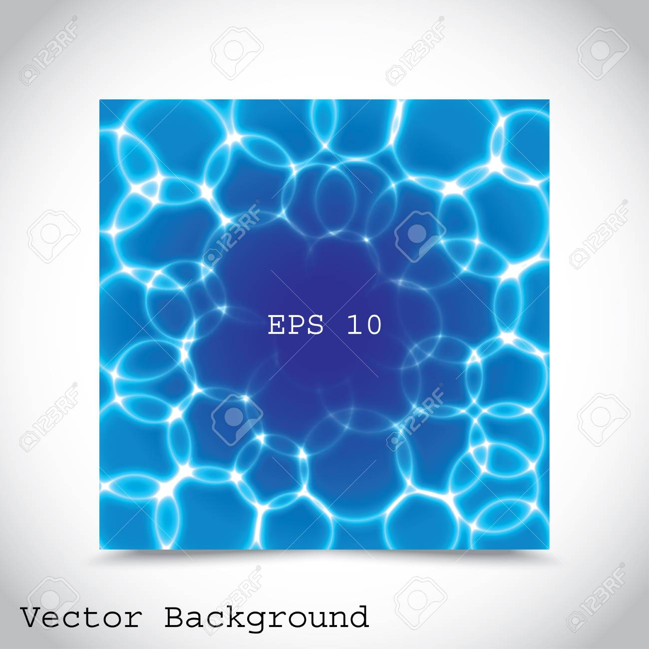 blue bubbles. abstract background Stock Vector - 17607880