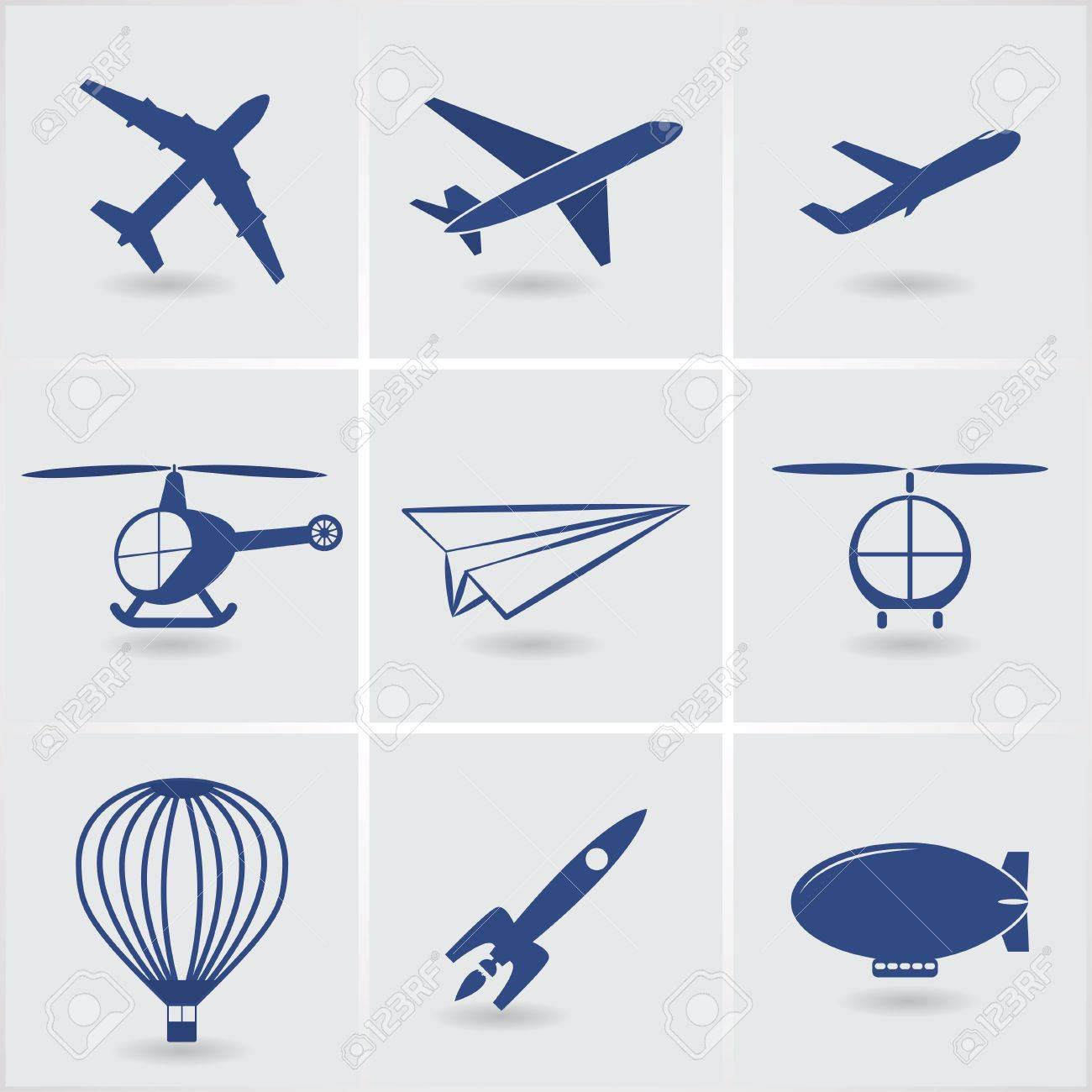 air transport. Stock Vector - 21572309
