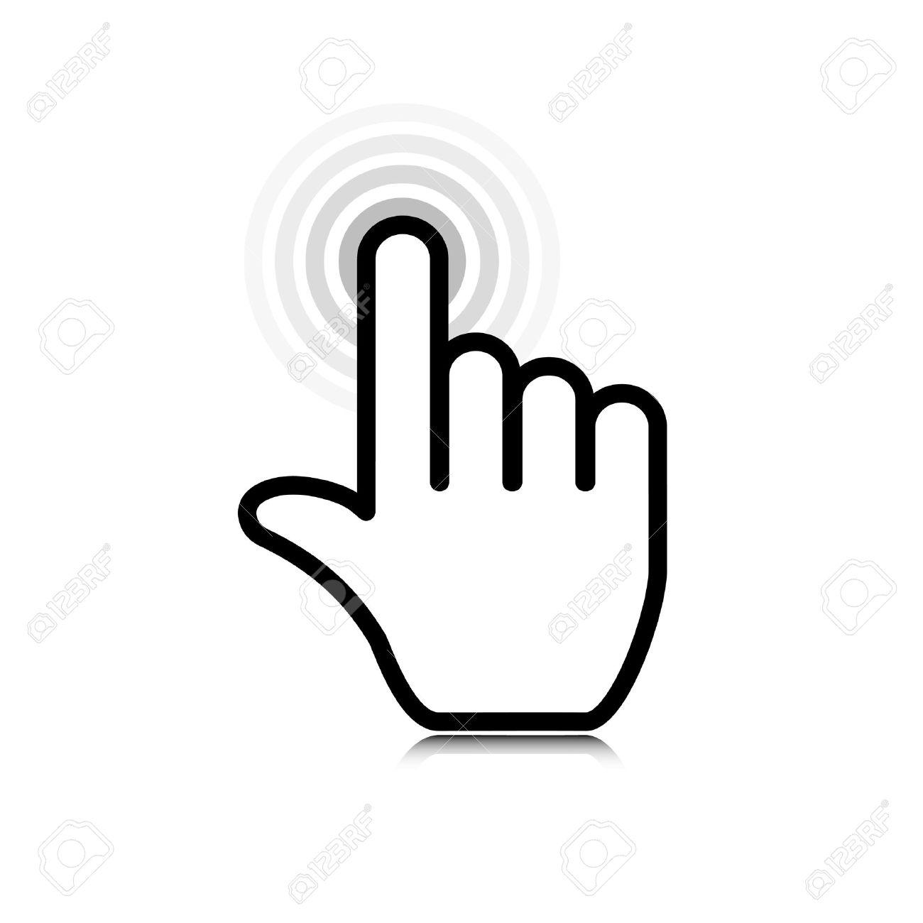 Hand Icon Click Hand Icon