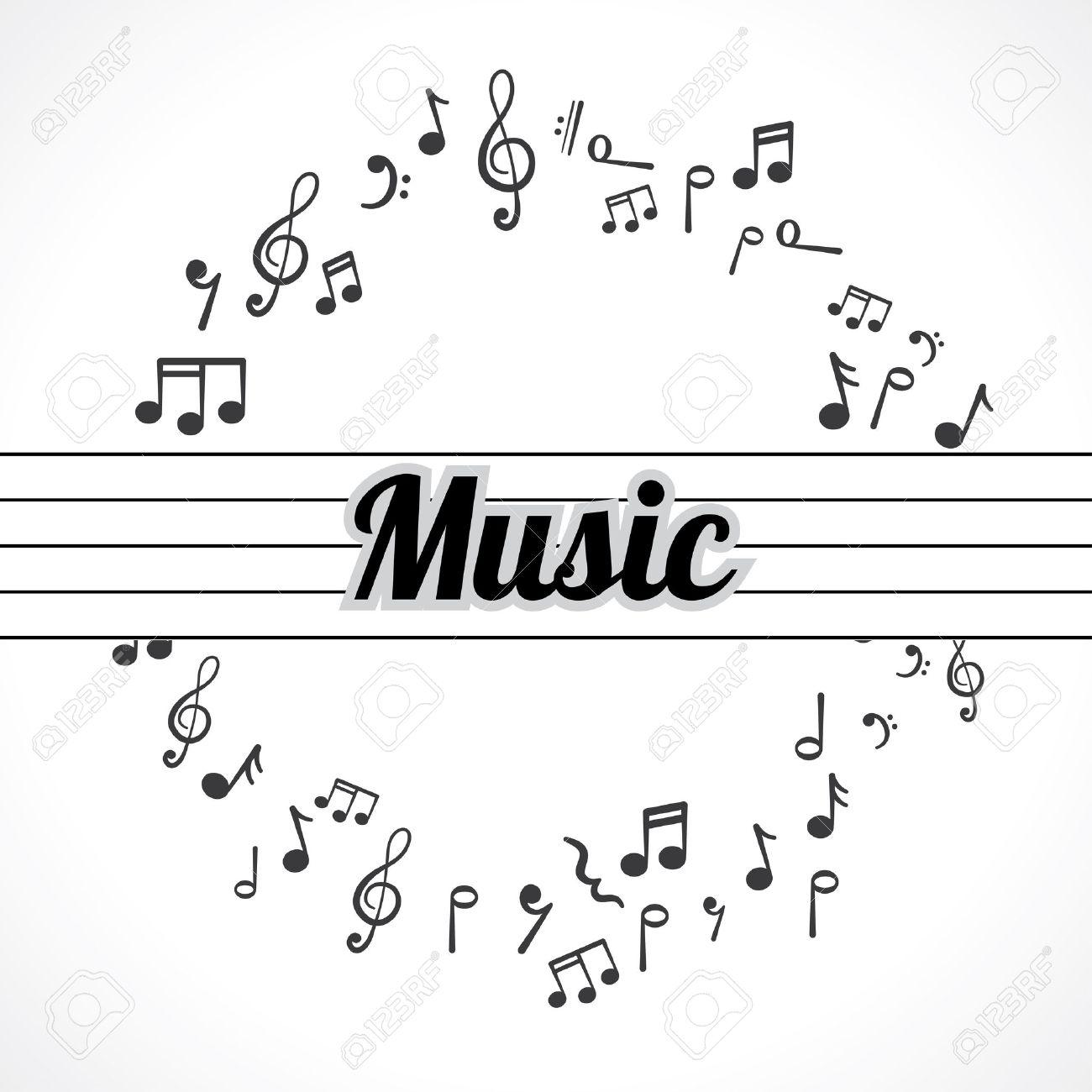 Super Note De Musique Banque D'Images, Vecteurs Et Illustrations Libres  ZO72