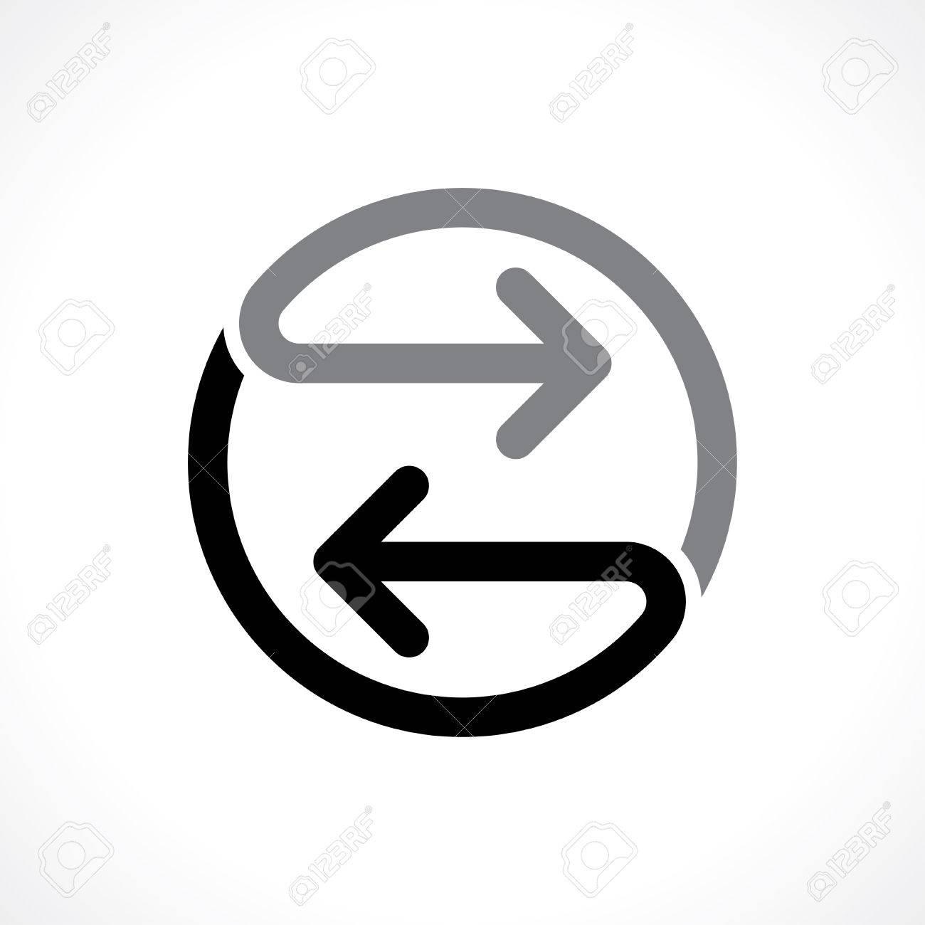 双方向矢印アイコンのイラスト素材・ベクタ - Image 46672779.