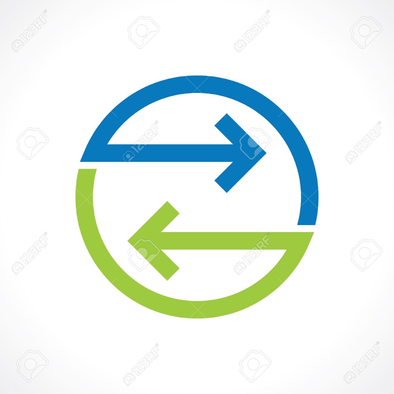 symbol of bidirectional arrows - 46672799