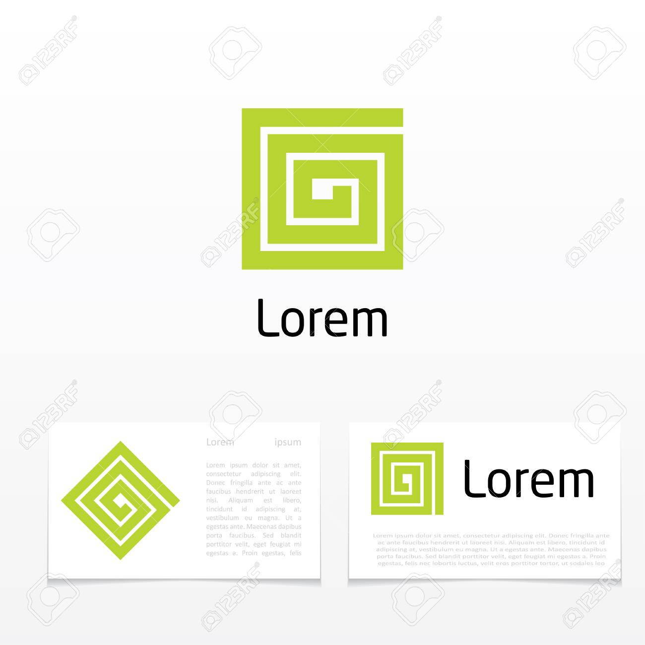 Abstract Symbol Of Letter G Royalty Free Cliparts Vectors And