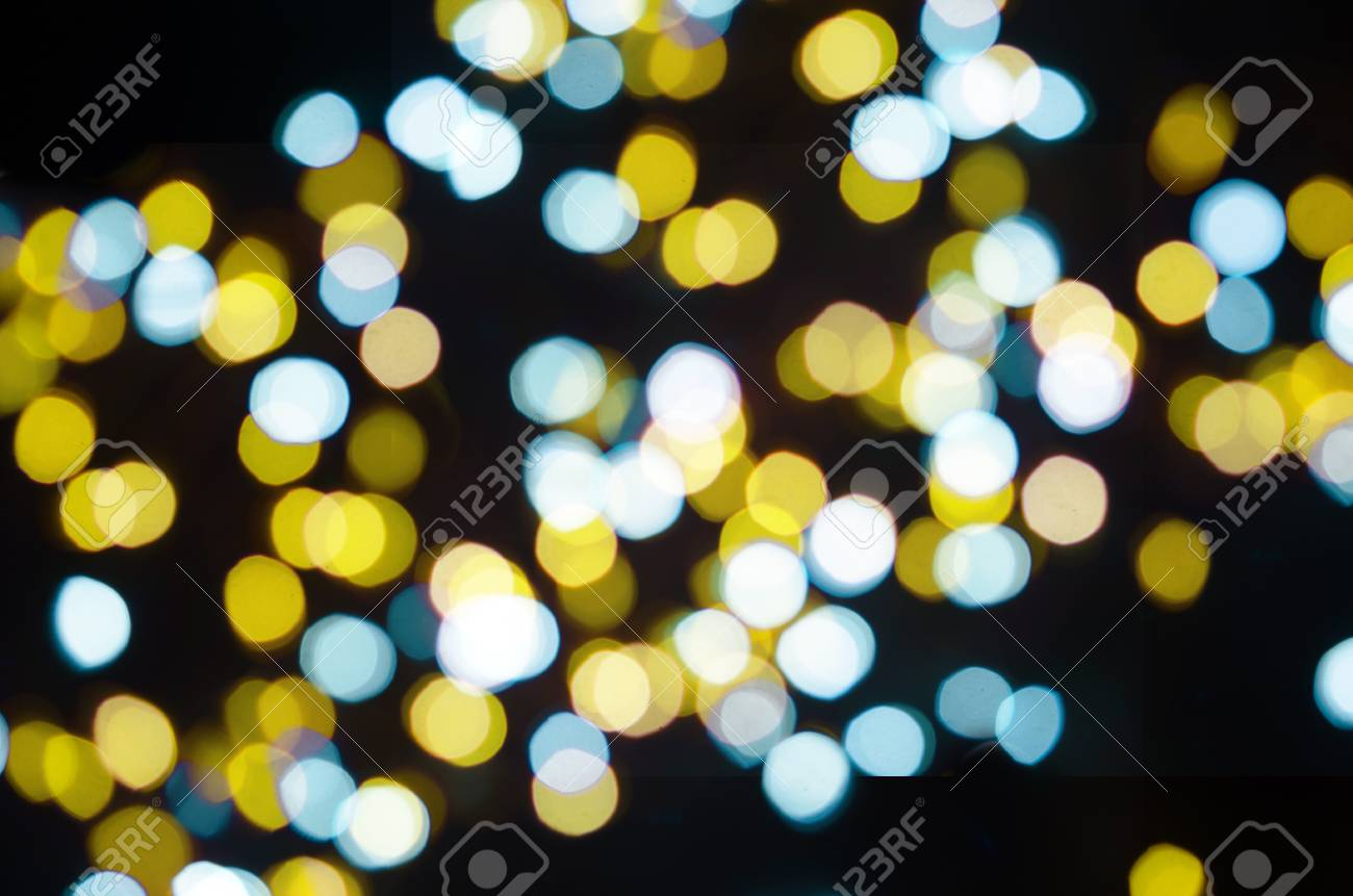 sports shoes 14f43 2bbe7 Abstract shiny Gold christmas Lights bokeh background - Vintage..