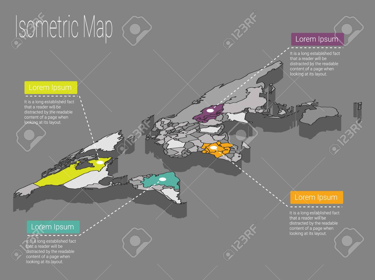 Map world isometric concept political world map isometric 3d foto de archivo map world isometric concept political world map isometric 3d infographic world map infographics design template gumiabroncs Choice Image