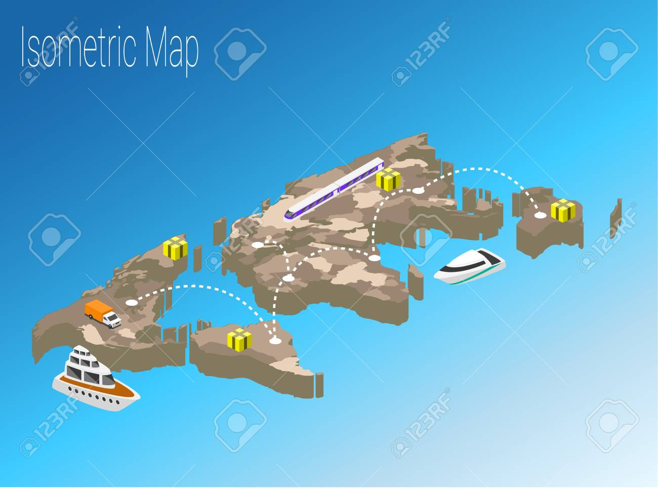 Map world isometric concept political world map isometric 3d map world isometric concept political world map isometric 3d infographic eps world map infographics gumiabroncs Image collections