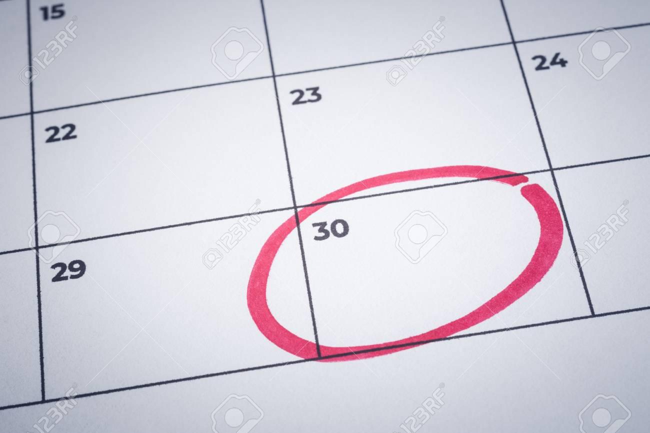 closeup blank planner calendar minimal style background focus