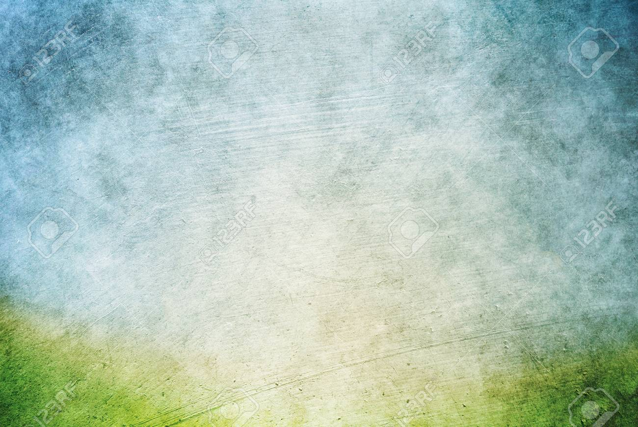 Grunge Texture Gray and Green - Background HD Photo - Light Sky