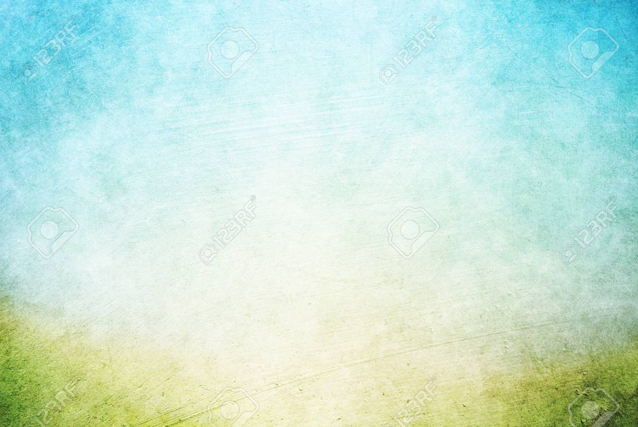 Grunge Texture Blue and Green - Background HD Photo - Light Sky