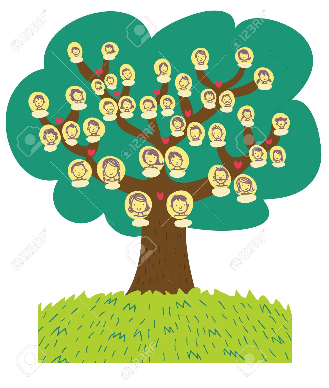 Funny Cartoon Family Tree Stock Photo Picture And Royalty Free Image Image 13514383 ✓ free for commercial use ✓ high quality images. funny cartoon family tree
