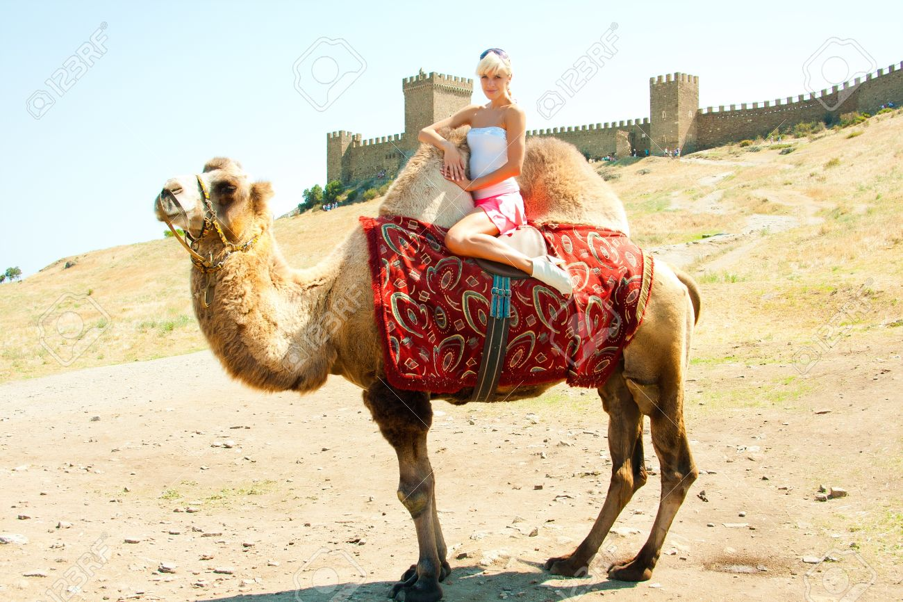 Image result for Images of camel with woman