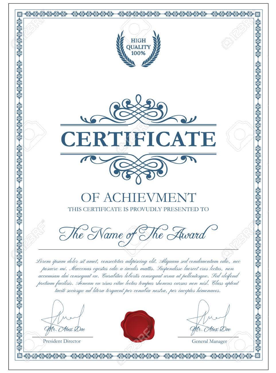 Life Membership Certificate Templates  Life Membership Certificate Template