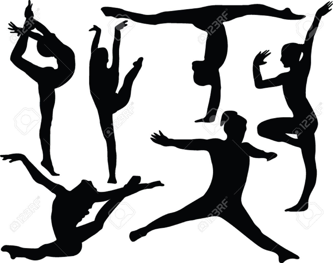 gymnastics collection - vector Stock Vector - 5052930
