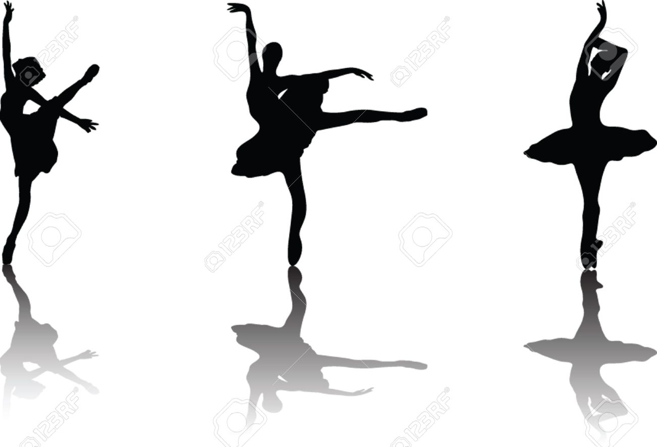 ballerina vector royalty free cliparts vectors and stock rh 123rf com ballerina victor ballerina vector image