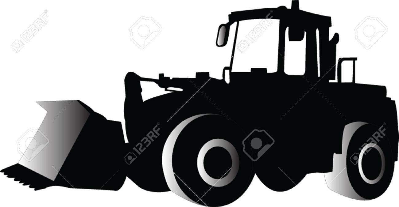 skid loader - vector Stock Vector - 5120427