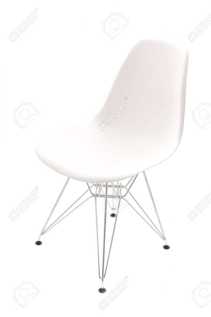 Retro chair isolated on white background Stock Photo - 13525972