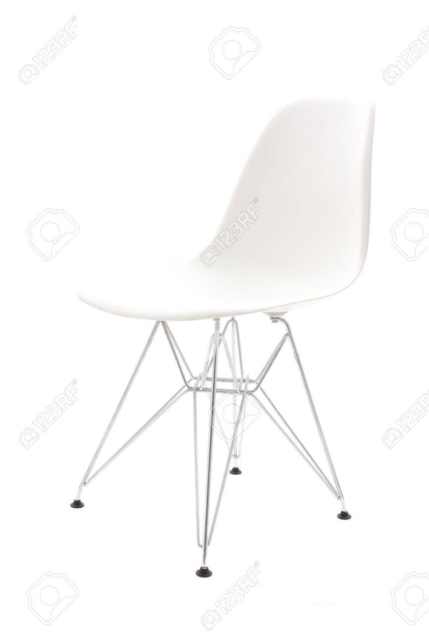 Retro chair isolated on white background Stock Photo - 13525970