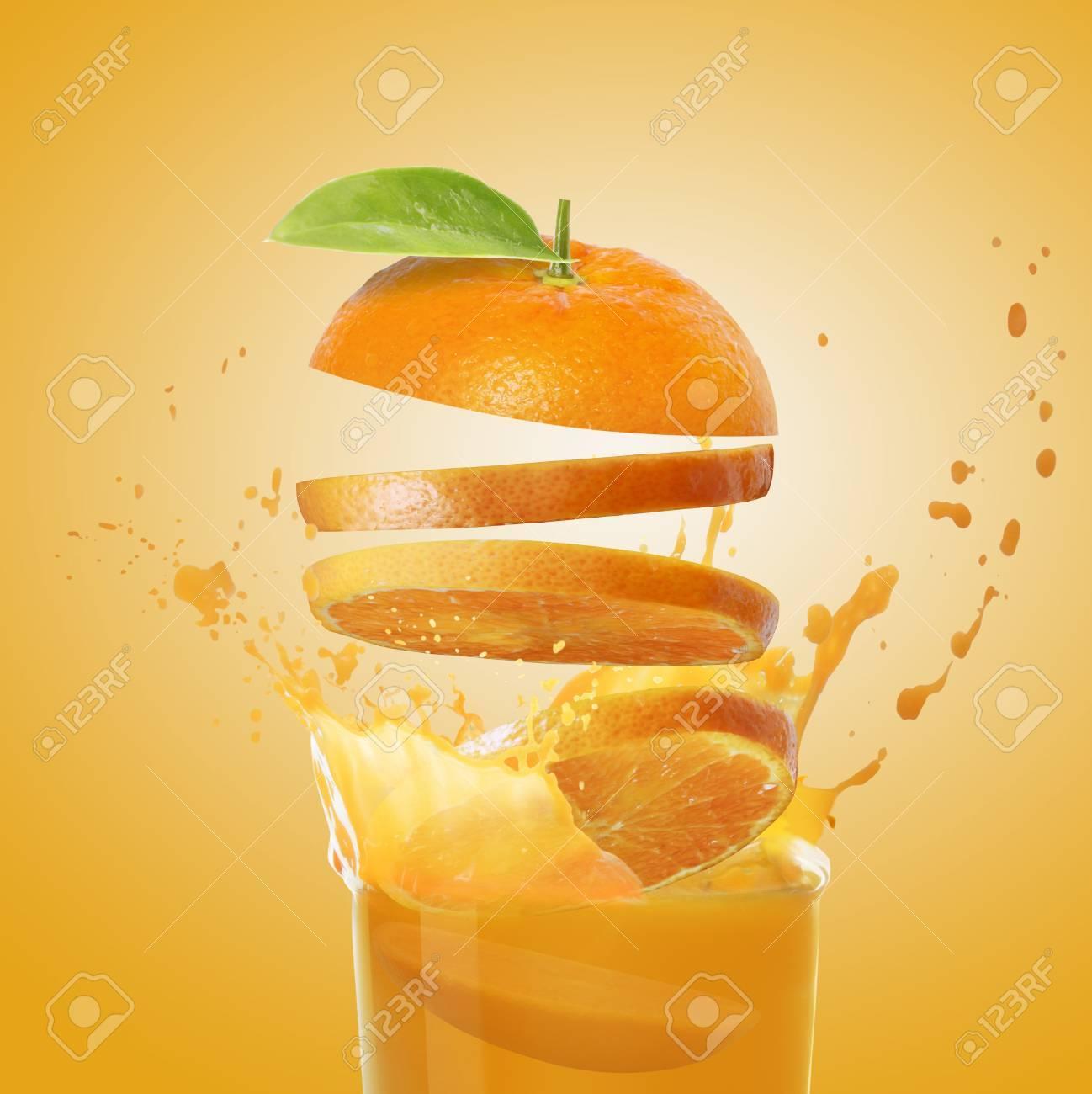 orange juice Stock Photo - 11236707