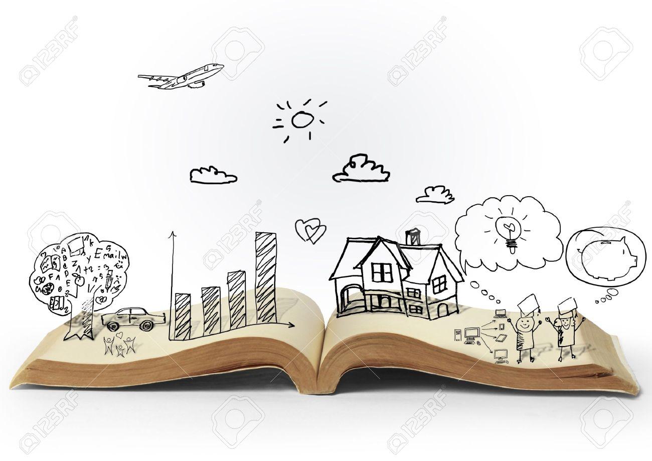 magic open book of fantasy stories - 14763324