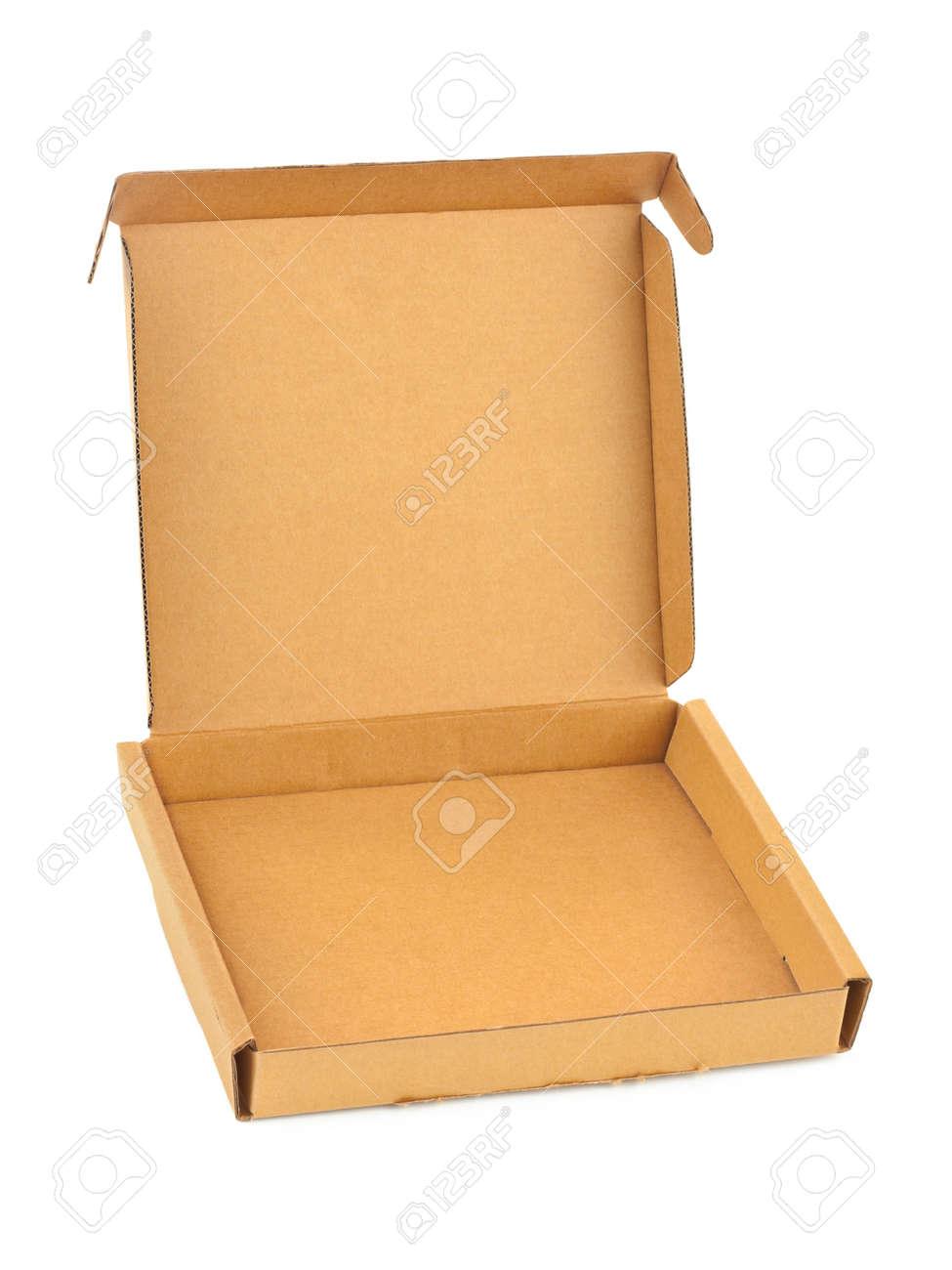 White Pizza Box Texture