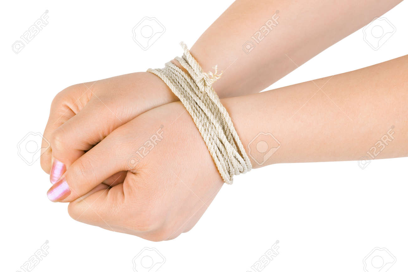 Image result for image tied hands