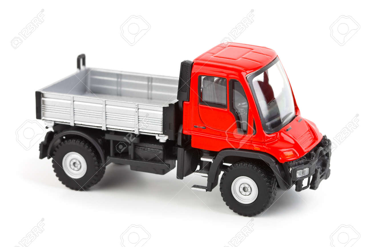 Toy car truck isolated on white background Stock Photo - 9527618