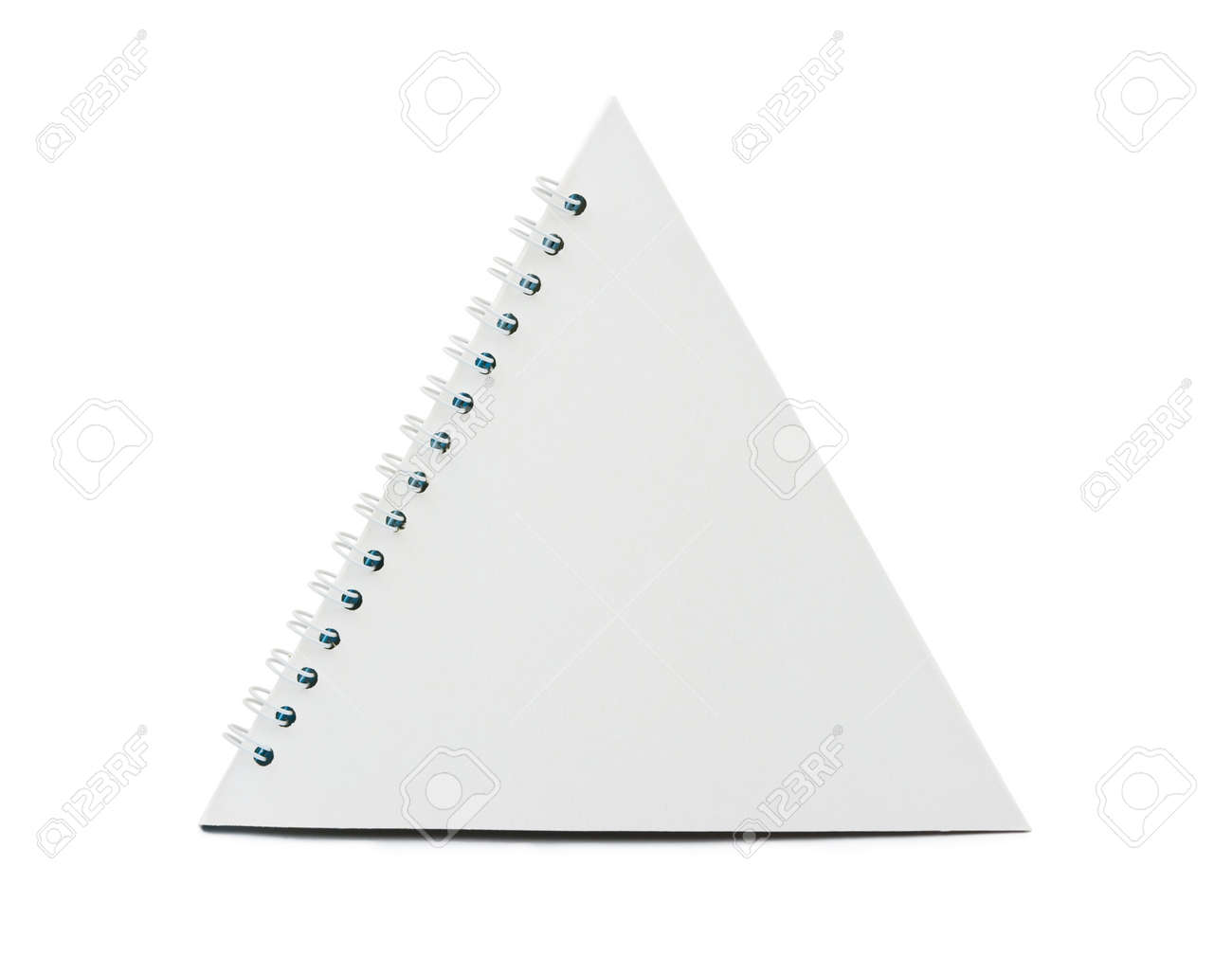 Blank desktop calendar isolated on white background Stock Photo - 13702317