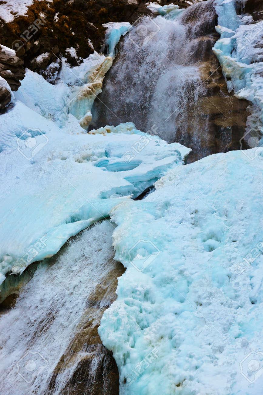 Waterfall Krimml at Tirol Austria - nature and travel background Stock Photo - 17983838