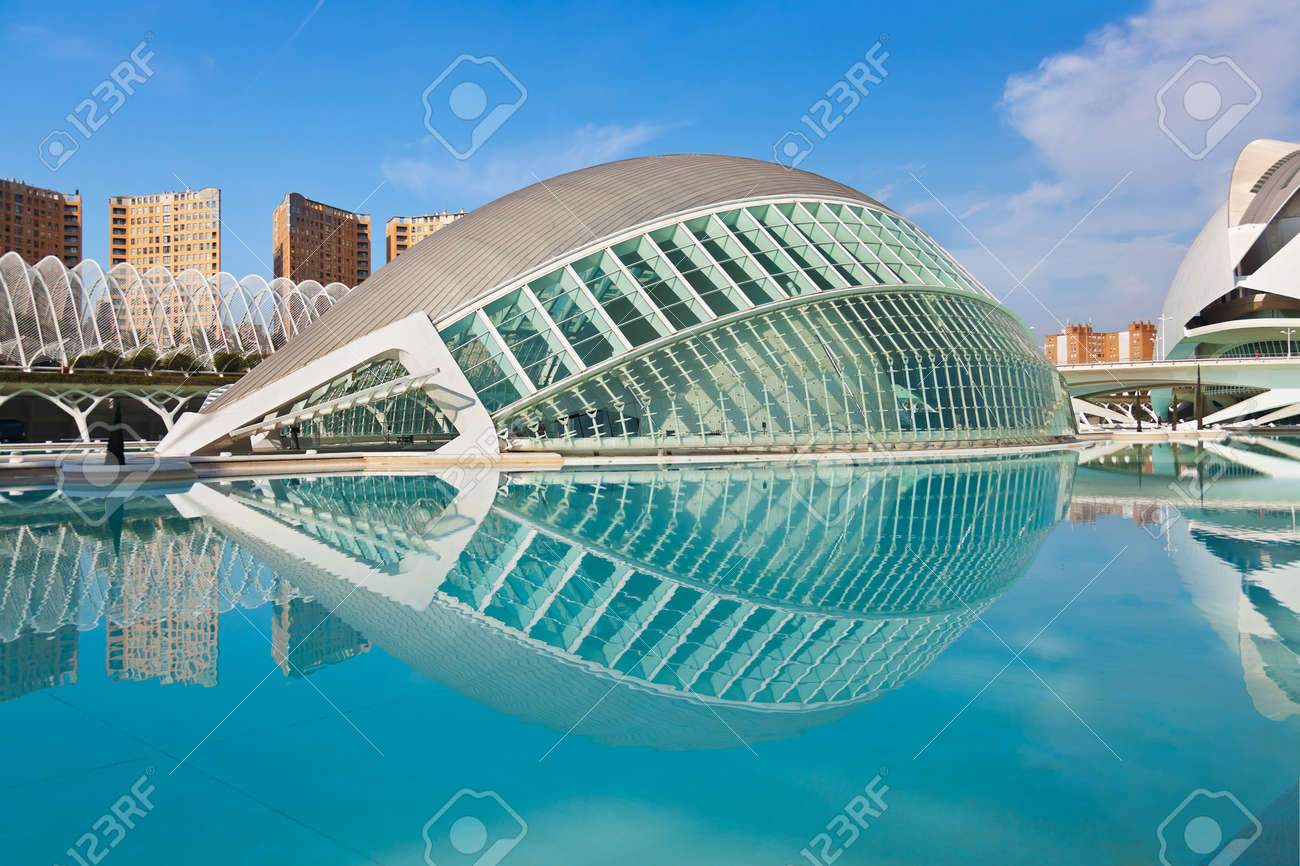 Modern Architecture Spain modern architecture in the city of arts and sciences - valencia