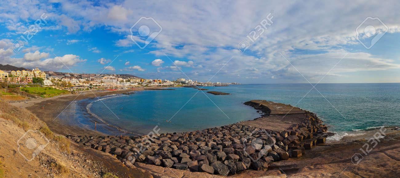 Beach Las Americas in Tenerife island - Canary Spain - 22803099