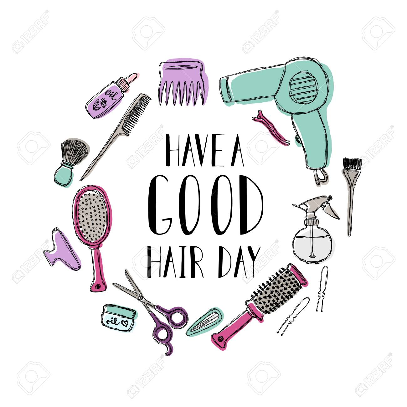 Accessories For The Hairdresser Motivational Quote Have A Good