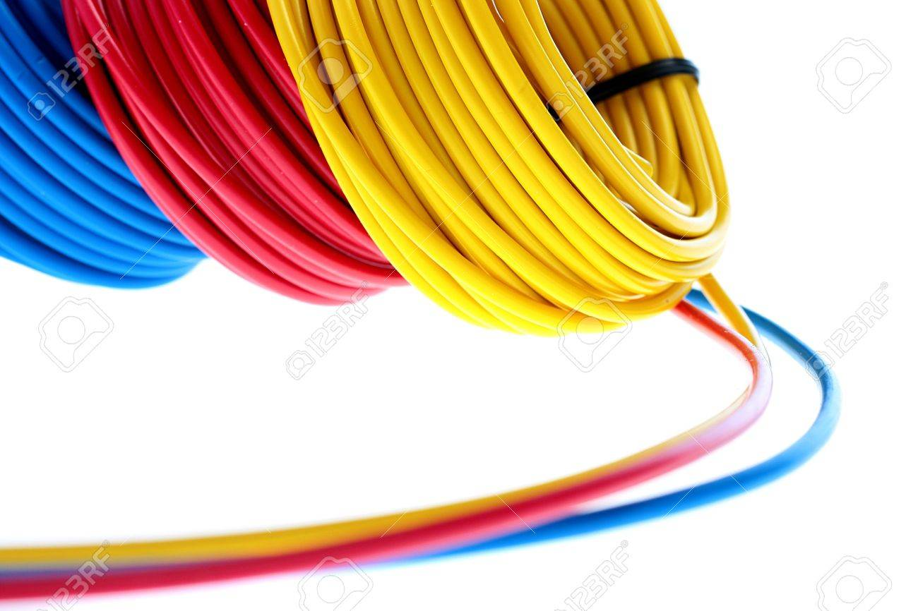 Colour Of Electrical Wires Turcoleacom 6977155 Electric Red Yellow And Dark Blue Are