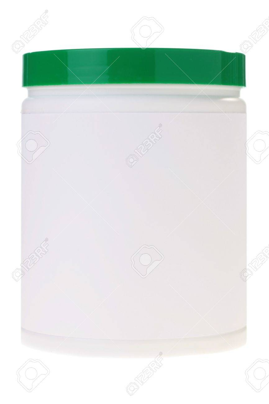 The Plastic Container With A Green Cover For Storage And